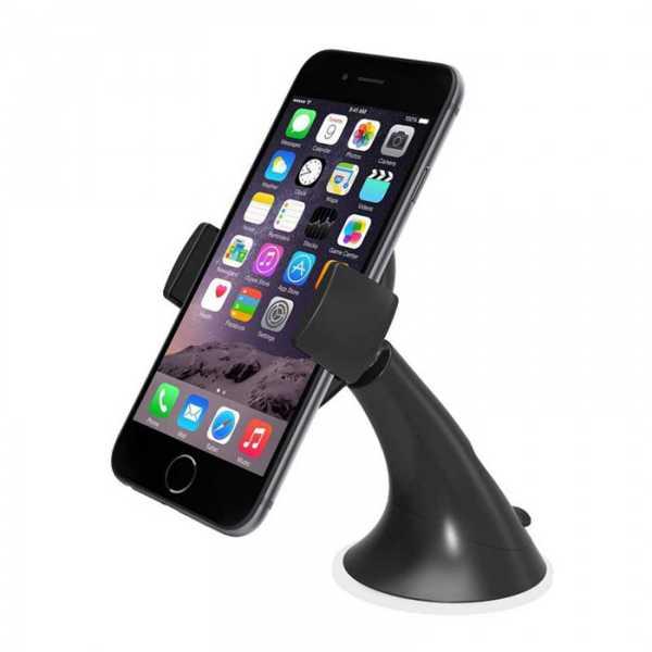 Araç İçi Telefon Tutucu Vantuzlu Kıskaçlı 9 cm Açılıyor
