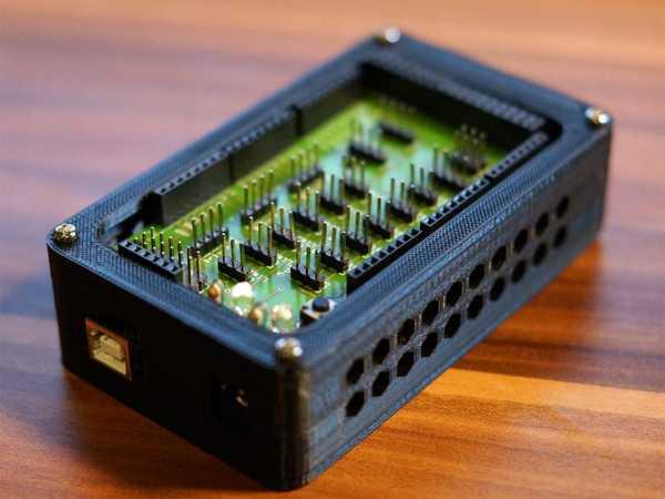 Arduino Mega 2560 + Proto Shield Kutusu / Muhafaza Plastik Aparat