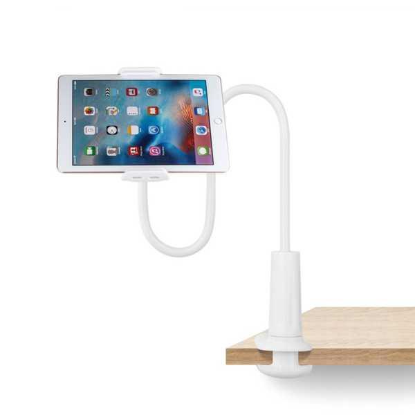 Masaüstü Kıskaçlı ipad Telefon Tablet Tutacağı Masa Ayarlanabilir