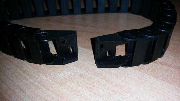 Kabelschlepp Anfangs Und Endstück Plastik Aparat