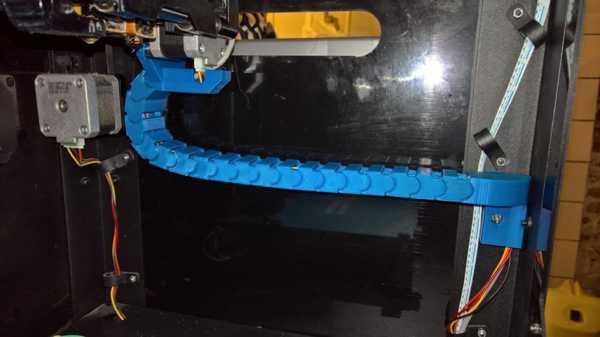 Flashforge Creator Pro X-Axis Kablo Zinciri Plastik Aparat