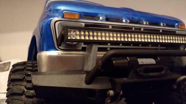 TRX-4 LED çubuk montajı Tutucu Dekoratif Aksesuar Aparat