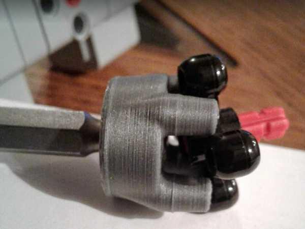 Lego Technics Sürücüsü - 1/4 Hex Adaptörü Dekoratif Aparat