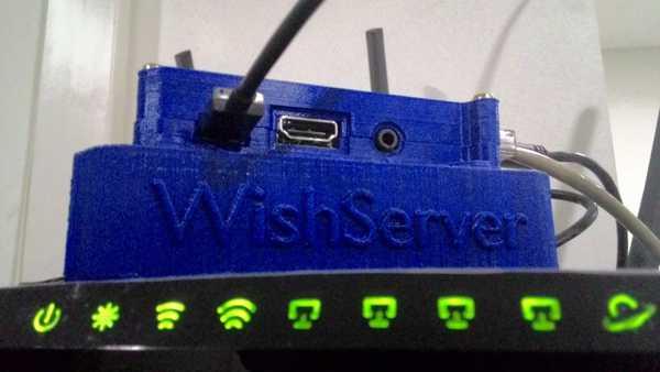 Wishserver - Raspberry Pi için Bulut Sunucusu  Organik Plastikten