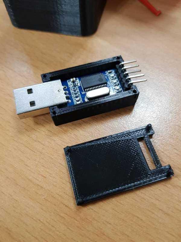 PL2303 Uart - USB Seri bağlantı noktası kutusu  Organik Plastik