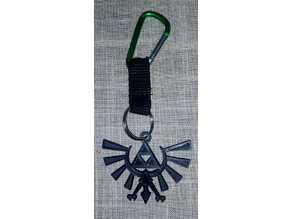 The Legend of Zelda Hyrule Crest Anahtarlık Hediyelik Süs Eşyası