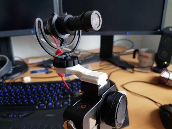 Gopro - Rode Videoomic Micro -Adapter Plastik Aparat