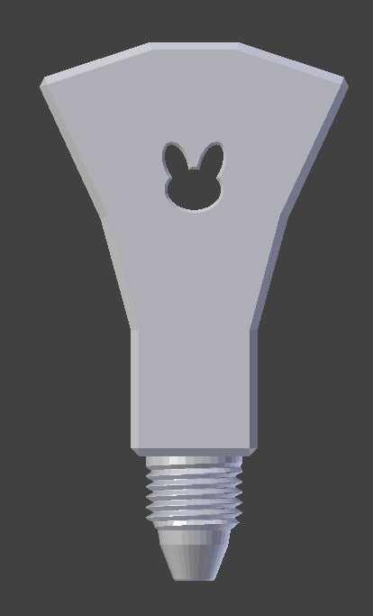 SmartrapCore V.2 için Çift Baskı Y  Organik Plastikten Aparat