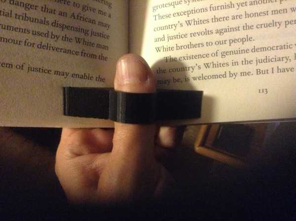 Kitap Yüzük Tutucu Rahat Tek Elle Kitap Okuma Yüzüğü Aparatı