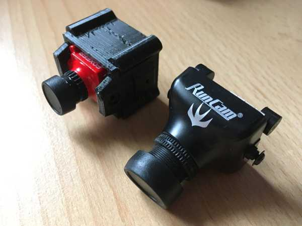 Mikro FPV Kamera - HS1177 Boyut Adaptörü  Organik Plastikten