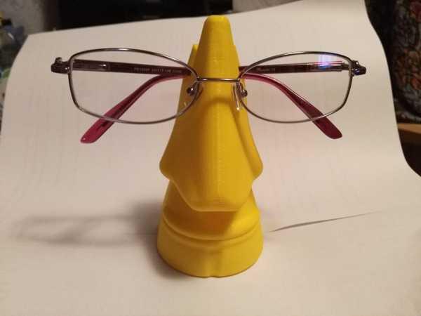 Hediyelik Gözlük tutucu burun heykel dekor biblo Masaüstü