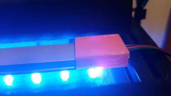 U Şekli Alüminyum LED Kanal Aparatı Organik Plastikten