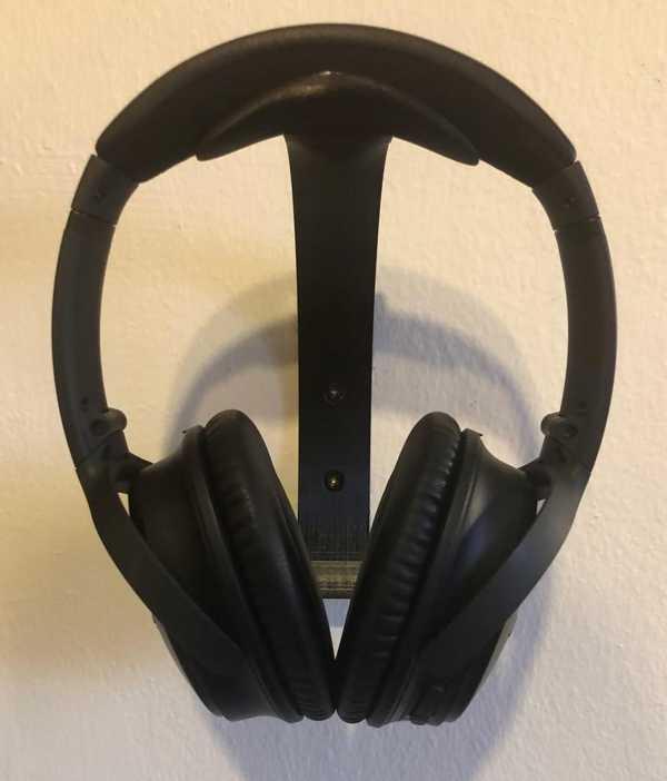 Toptan Kulaklık Duvar Montajı (Bose Quietcomfort 35) Plastik Aparat