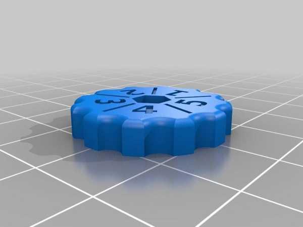 Prusa I3, Z Ekseni Yatağı Tesviye Topuzu Plastik Aparat