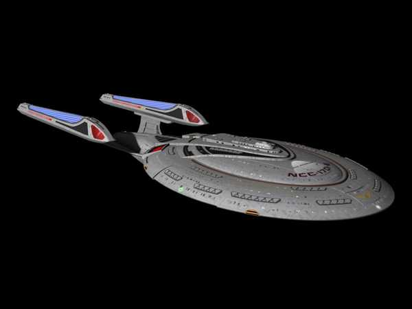 Star Trek - Yeni Nesil Kurumsal-E Ncc-1701-E Plastik Aparat
