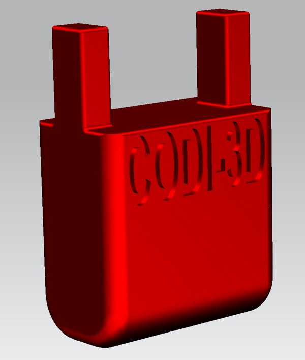 modüler destek h = 25mm için CNC modüler tabla kıskacı (d. 6mm.)
