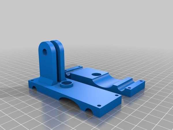 Baskı Yatak Kalibrasyonu İçin Arama Göstergesi Tutucu (Da Vinci 1.0) Plastik Aparat
