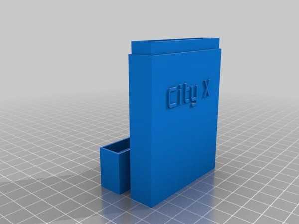 Benim Özelleştirilmiş Kart Kutu Kılıf Özelleştirici Plastik Aparat