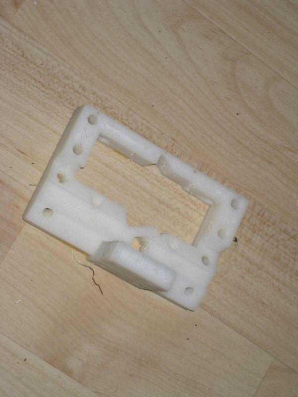 Türkçe Bfb Hot-End İçin X Taşıyıcı Düşük (Parametrik) Plastik Aparat