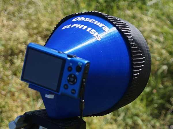 Canon Powershot Elph 115 İçin Kamera Objectura Plastik Aparat