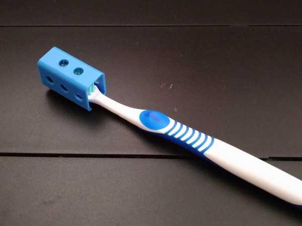 Yine Bir Başka Diş Fırçası Kafa Kapağı Organik Plastikten
