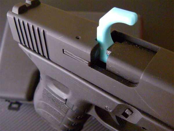 Glock tabanca için 9 mm Oda Güvenlik Bayrağı Ek Aparat