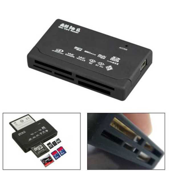 Çoklu Kart Okuyucu ALL in 1 CF Micro Sd SD Mİni Sd SD HC Card Rea