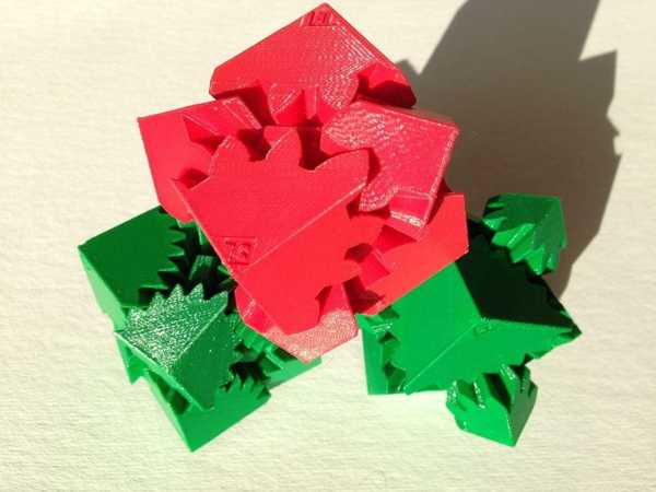Toptan Üç Küp Dişliler Plastik Aparat