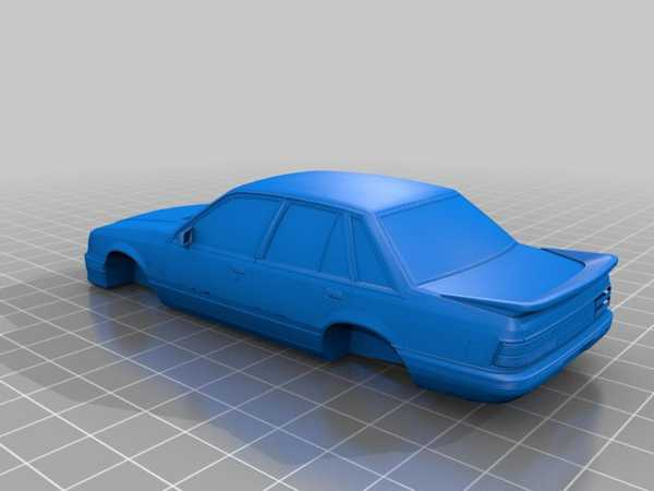 Holden Commodore 85 Plastik Aparat