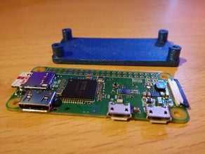 Raspberry Pi Zero & W Standı ve Montajı  Organik Plastikten