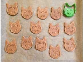 Husky Kurabiye Kesici Kalıbı Kek Kalıp  Şeker Hamuru Oyun Hamuru