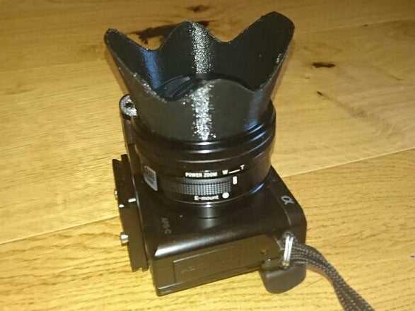 Lens Siperliği 40,5 mm, Filtrelerle çalışır - Sony Alpha a6000