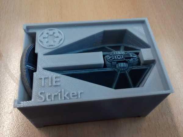 Stanley organizatör için TIE Forvet Tutucu (X-Wing Minyatürleri)