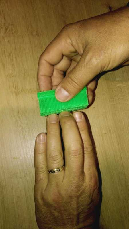 Toptan El Fırçası Tamamen Basılmış Plastik Aparat
