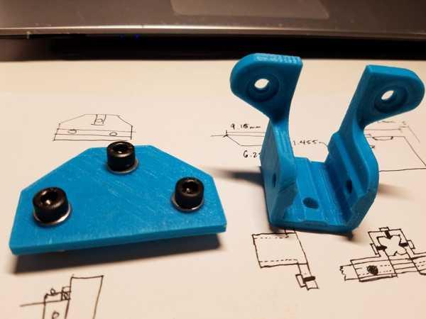 D-Bot - 2x1 Plaka Değişimi 20x20 - 20x40 Bağlayıcı Tutucu