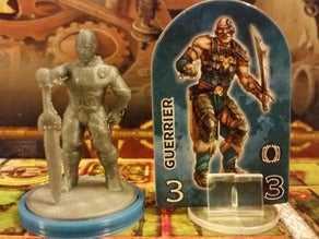 DesktopHero Waiting Warrior (Dungeon Twister Orijinal proxy)