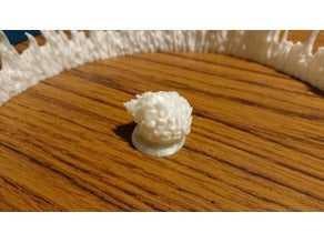 Alevli Küre Minyatür Biblo Dekoratif Hediyelik Süs Eşyası Maket
