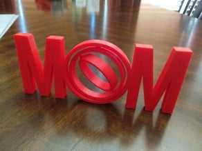 MOM Gimbal -  Biblo Dekoratif Hediyelik Süs Eşyası Maket