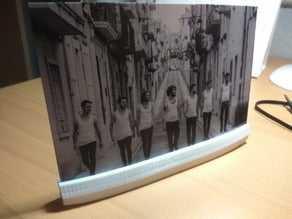 4x6 Fotoğraf Tutucu Biblo Dekoratif Hediyelik Süs Eşyası Maket