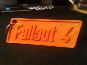 Fallout 4 anahtarlık Hediyelik Süs Eşyası oyuncak  Dekoratif