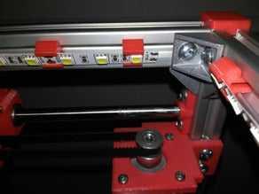 2020 10mm LED şerit klipsi  Organik Plastikten Aksesuar