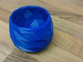 Poly Cup Vazo  Hediyelik Süs Eşyası Dekoratif Dekor Biblo