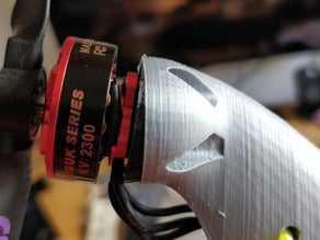 Lidl planör XL motor montajı v.1  Organik Plastik Aksesuar Aparat