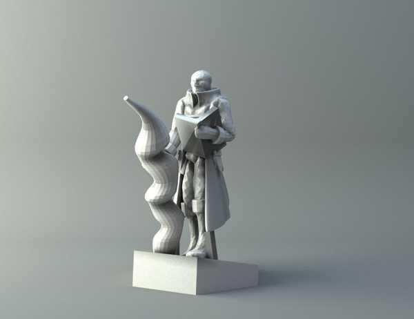 Elf büyücüsü 3 - D&D minyatür Biblo Dekoratif Süs Eşyası
