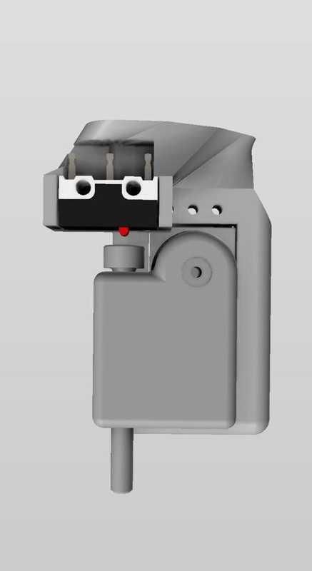 Servo Touch - Ender 3 İçin Z Probu - Bltouch Seçeneği Plastik Aparat