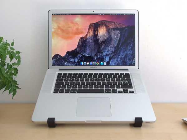 Geometrik Laptop stand Yükseltici Tutucu Kolay Kullanım Şık