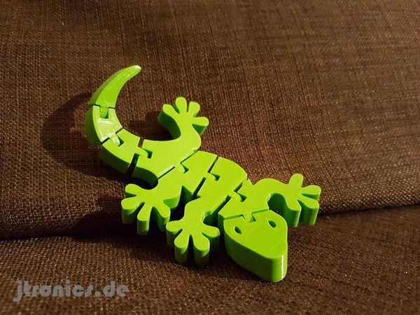 Flexi Mafsallı Gecko Tam Çocuk Oyuncak Hareketli Kertenkele