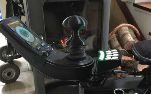 Elektrikli sandalye için kumanda kolu topu (elektronik tekerlekli
