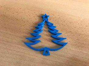 Noel ağacı süsü kesme aparatı mutfak eşyası dekorasyon