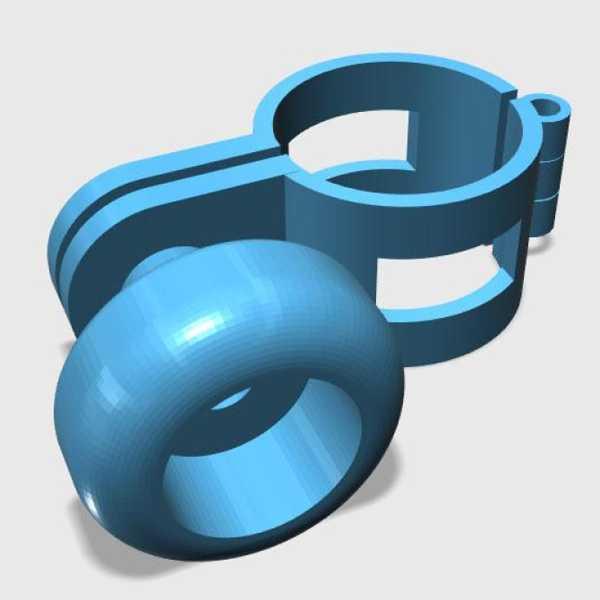 Direksiyon Simidi Döndürücü Plastik Aparat